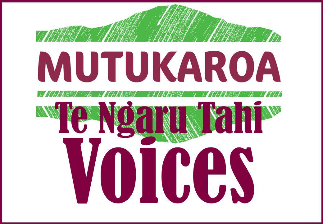 Te Ngaru Tahi Voices