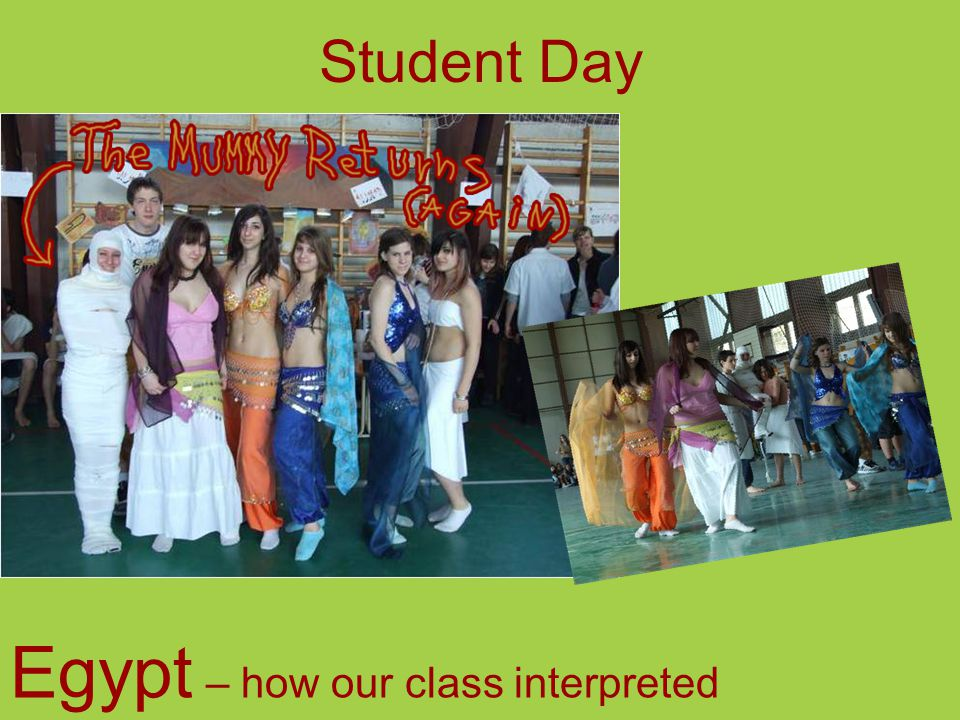 Student Day Egypt – how our class interpreted
