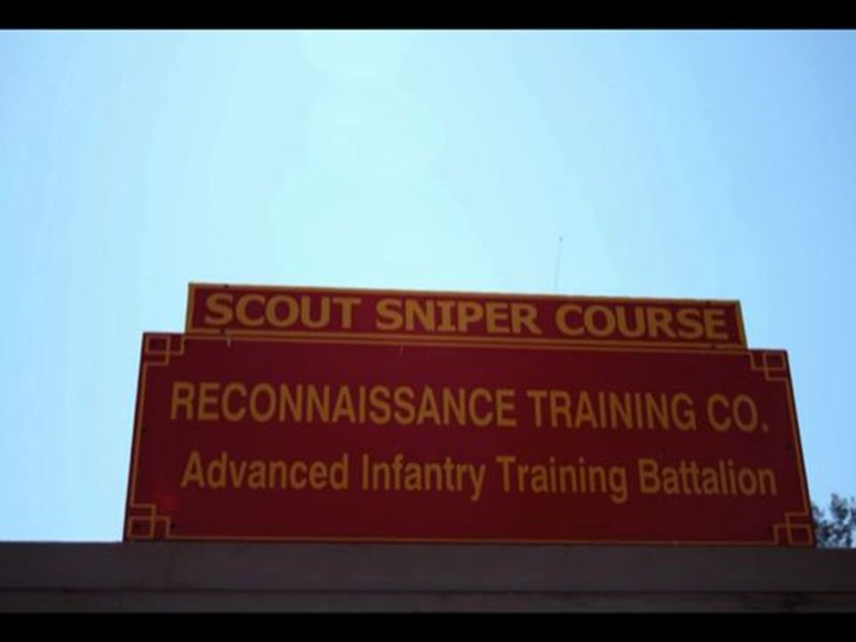 The 32 elite students who enter the course need almost perfect physical fitness (PT) scores, expert rifle qualifications, and superior intelligence test