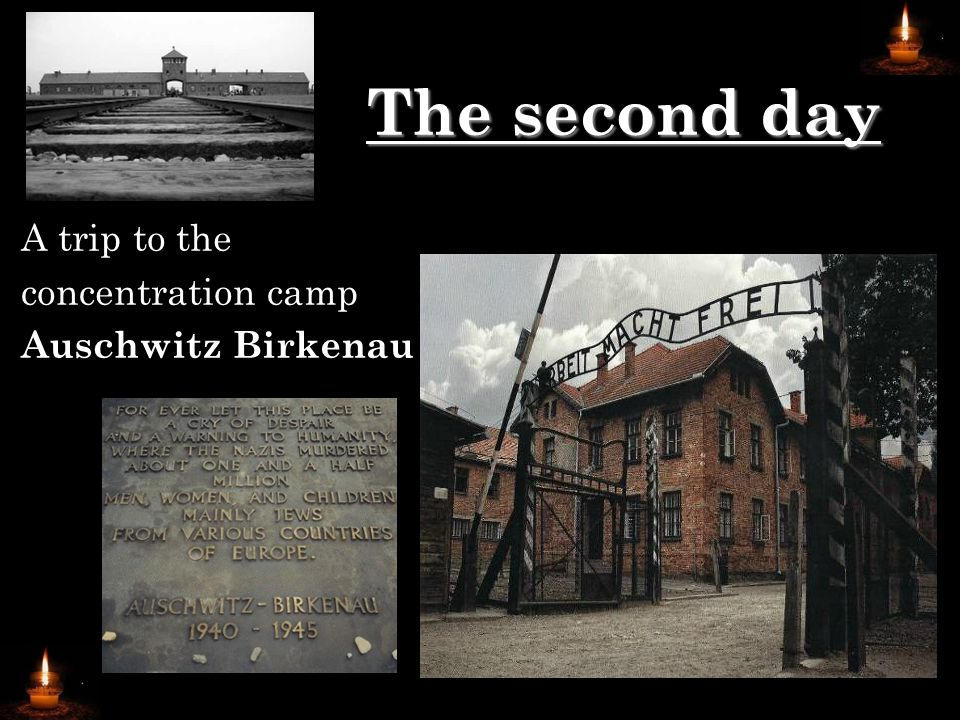…as well as… ►the concentration camp Auschwitz Birkenau as an example of crime against humanity - the German students shared their impressions of the visit in the concentration camp with the Polish students
