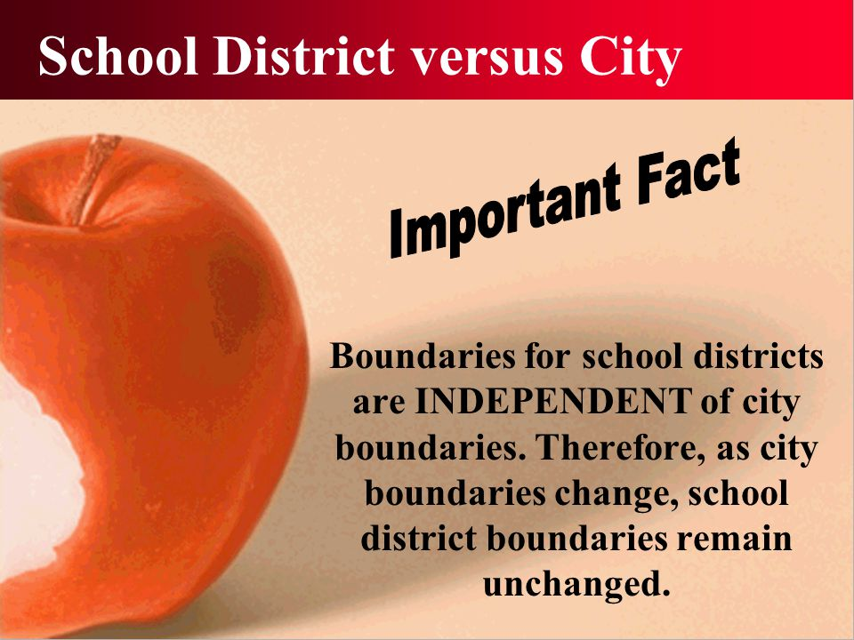 School District Map 60th Street 142nd Street