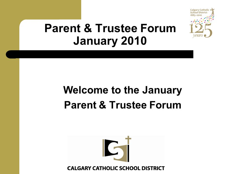 Vision Statement Continued Stewardship Our Catholic School District embraces fiscal responsibility, transparency and shared personal responsibility for the success of the students in our care.