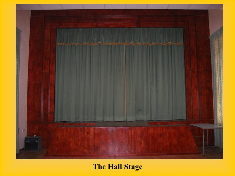 The Hall Stage