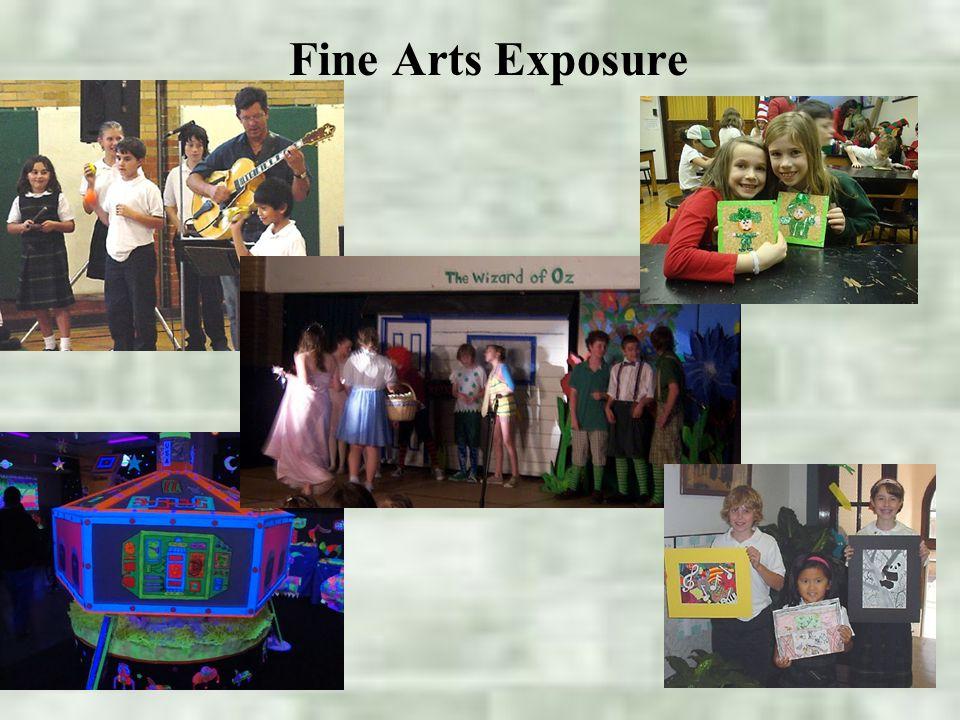 Fine Arts Exposure
