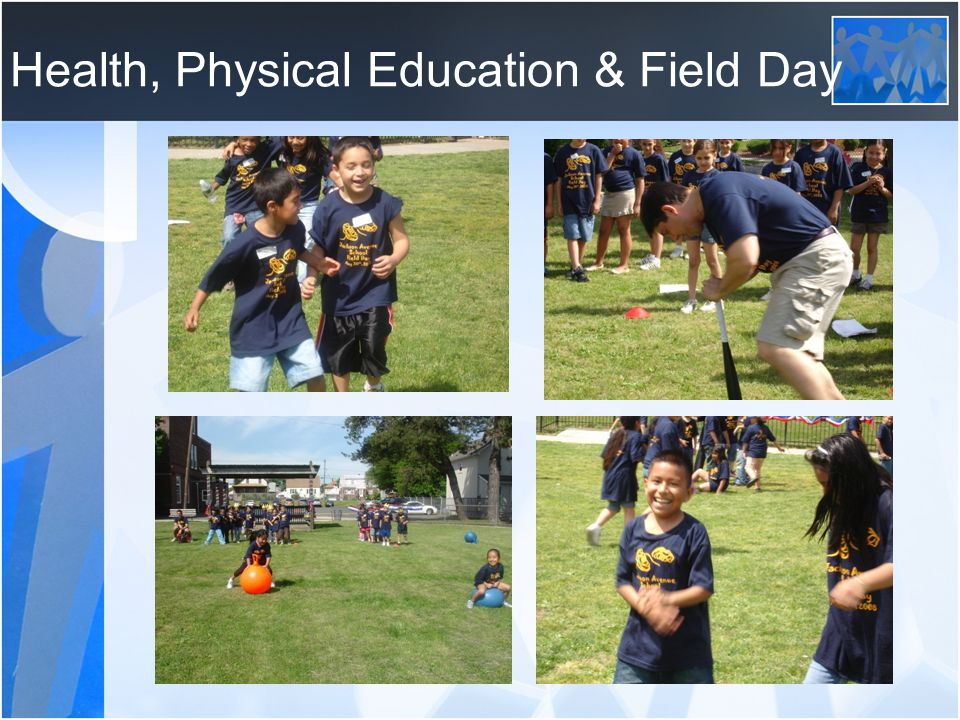 Health, Physical Education & Field Day