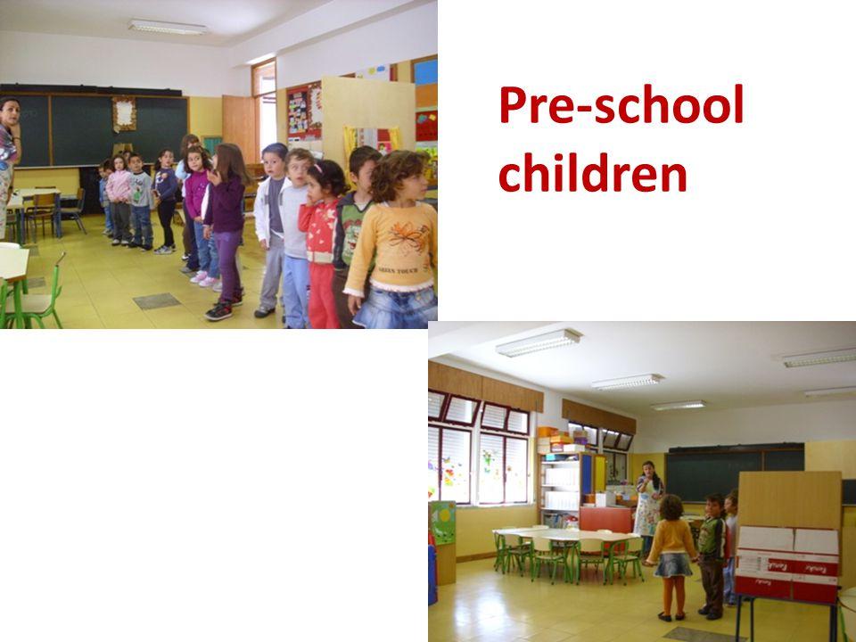 Pre-school children