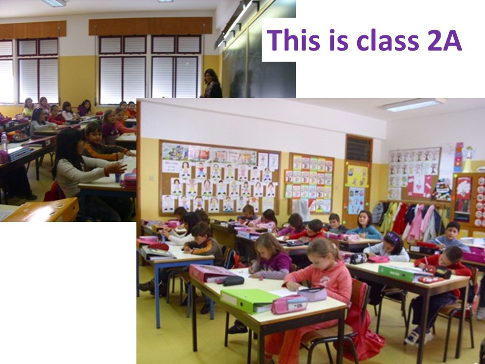 This is class 2A