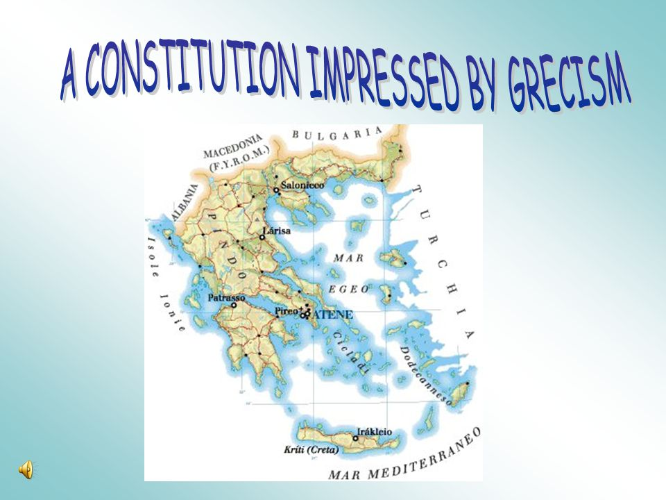 Democracy was a rather rooted Greek invention: in ancient Greece, in fact, it had the character of universality and eternity; besides it impressed our Christian soul, in particular the State and the society.