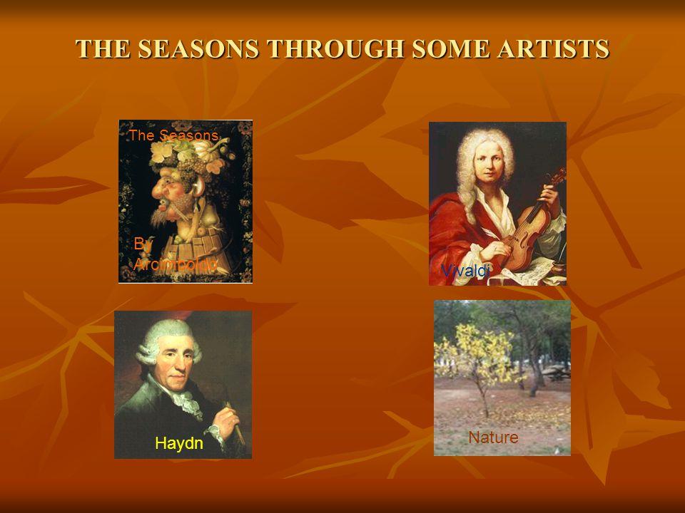 THE SEASONS THROUGH SOME ARTISTS Vivaldi Haydn The Seasons Nature By Arcimboldo
