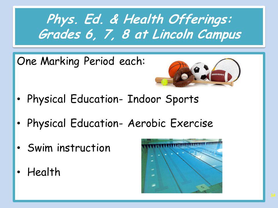 Phys. Ed.
