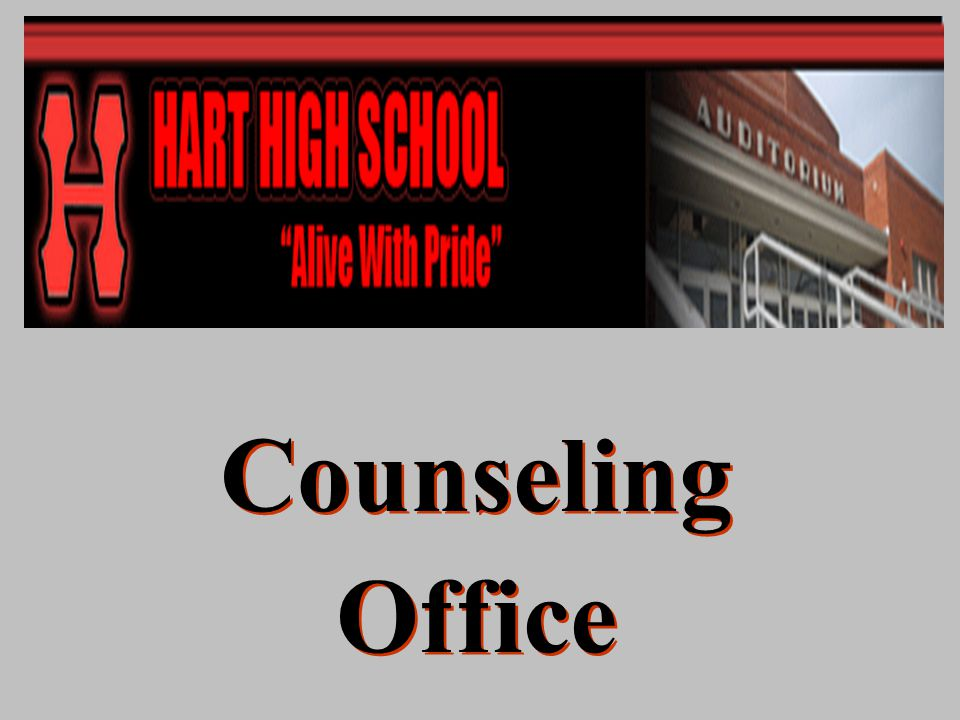 Counseling Office Counseling Office