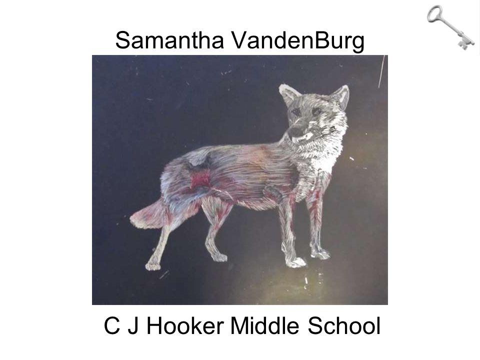 Samantha VandenBurg C J Hooker Middle School