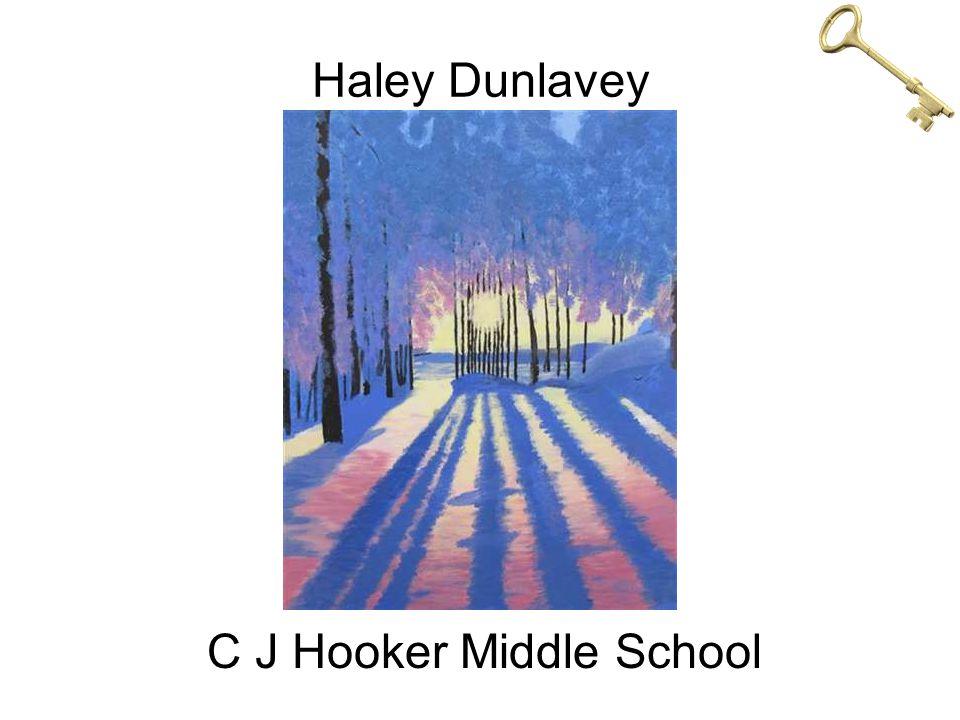 Haley Dunlavey C J Hooker Middle School