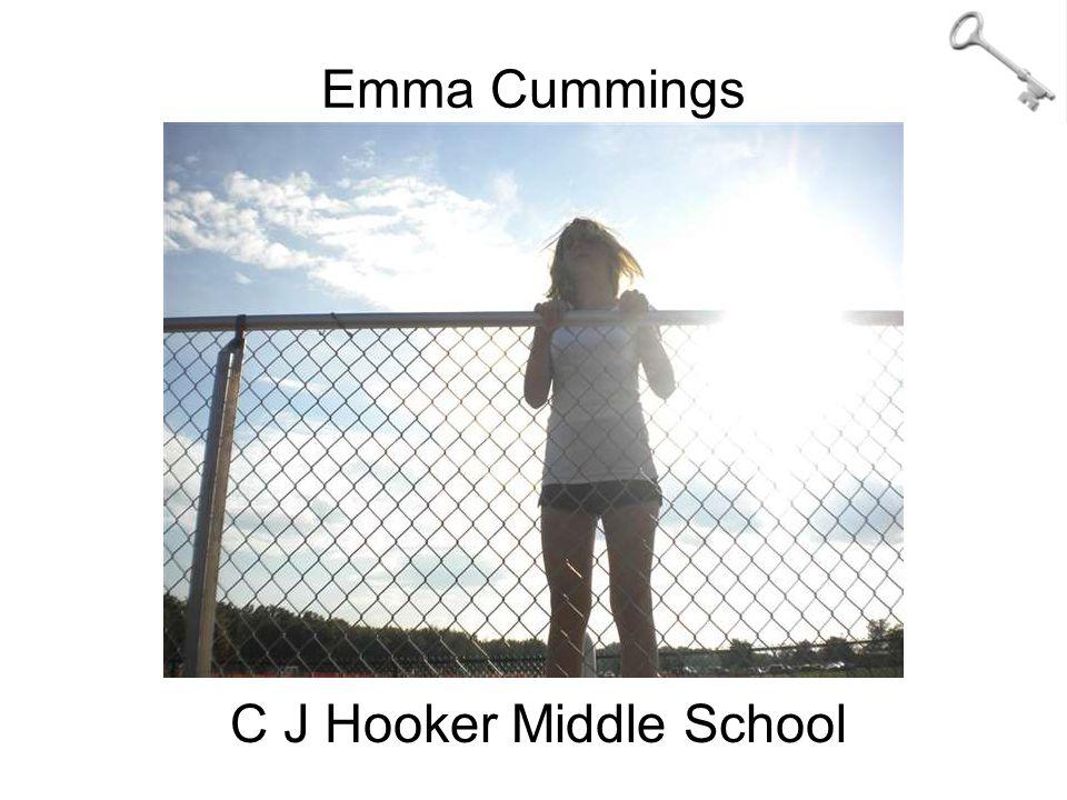 Emma Cummings C J Hooker Middle School
