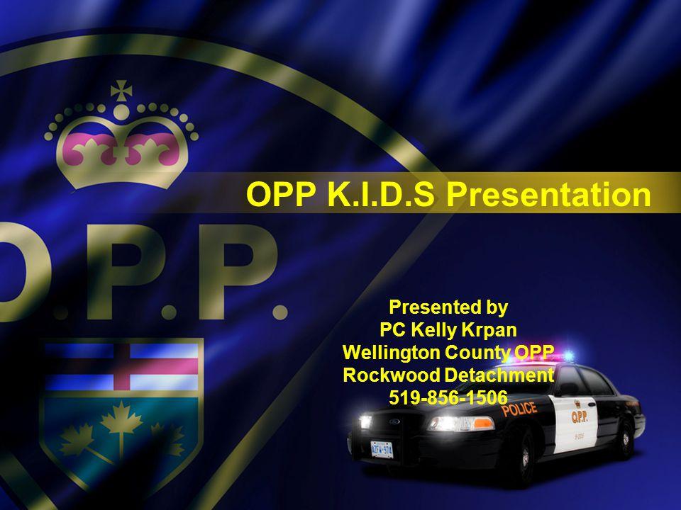 OPP K.I.D.S. PROGRAM 2013