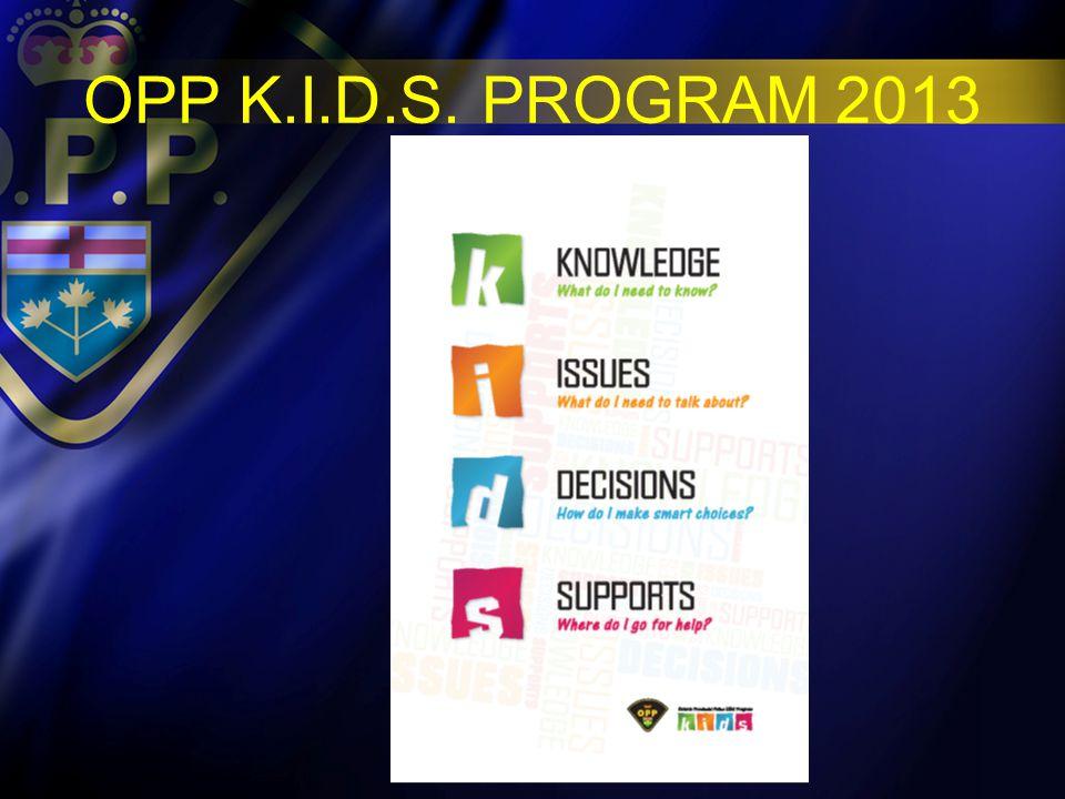 OPP K.I.D.S 2013