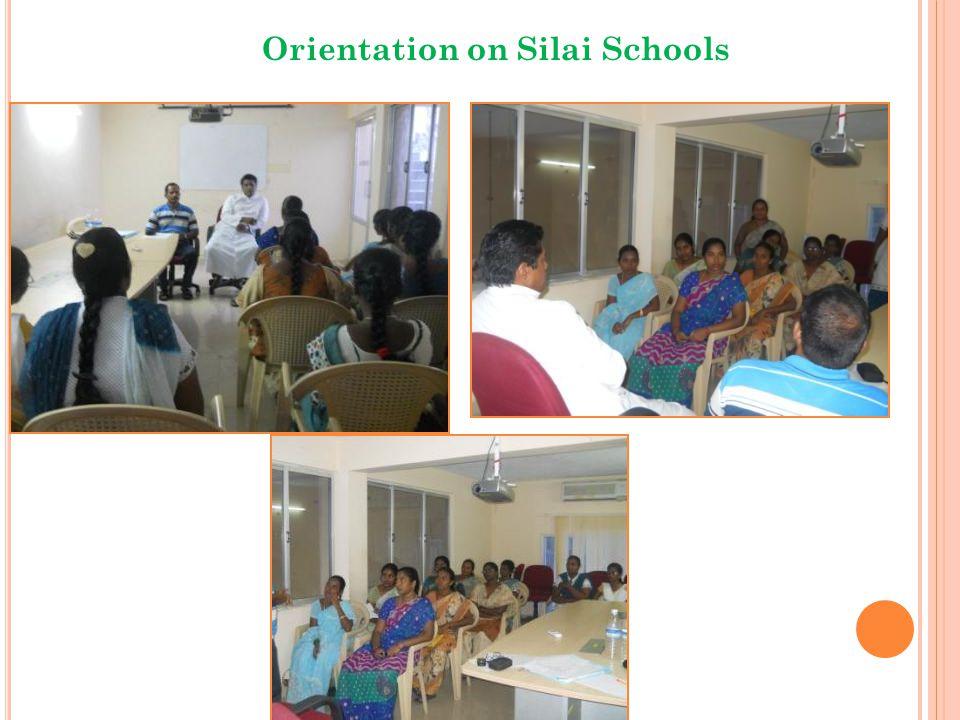 Orientation on Silai Schools