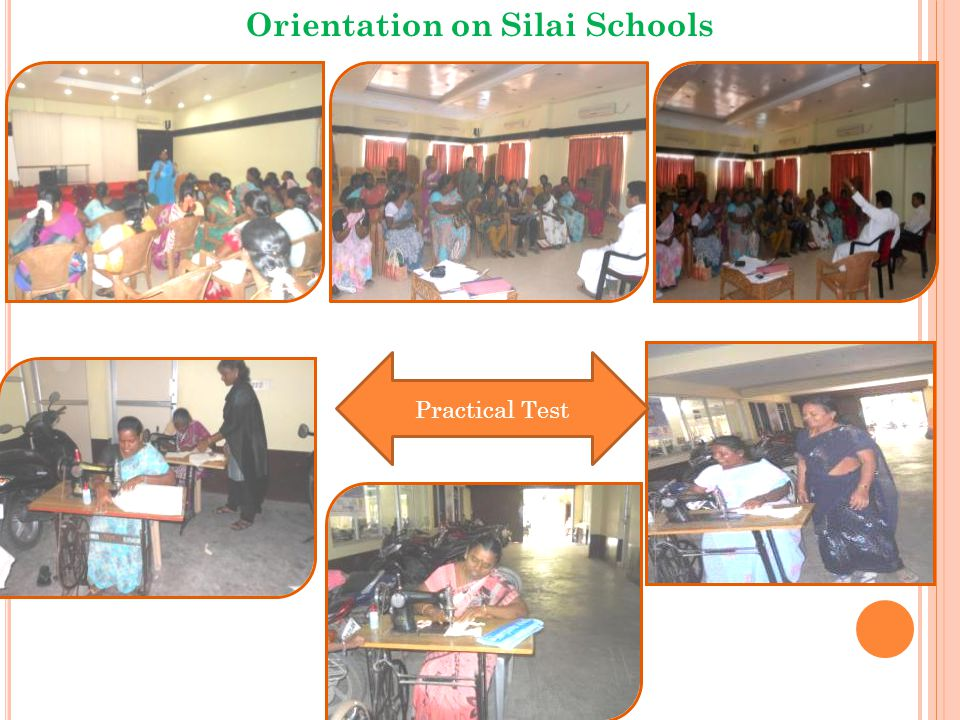 Practical Test Orientation on Silai Schools