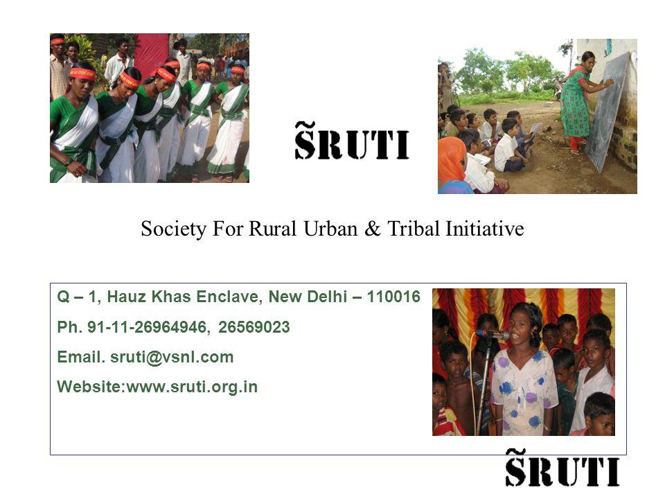 Q – 1, Hauz Khas Enclave, New Delhi – 110016 Ph. 91-11-26964946, 26569023 Email.