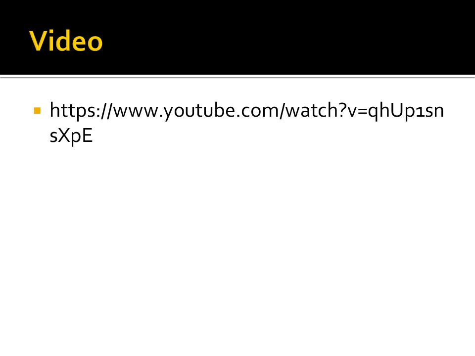  https://www.youtube.com/watch v=qhUp1sn sXpE
