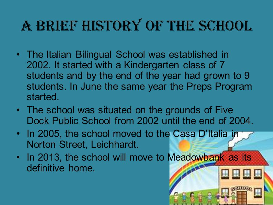 Italian Bilingual School