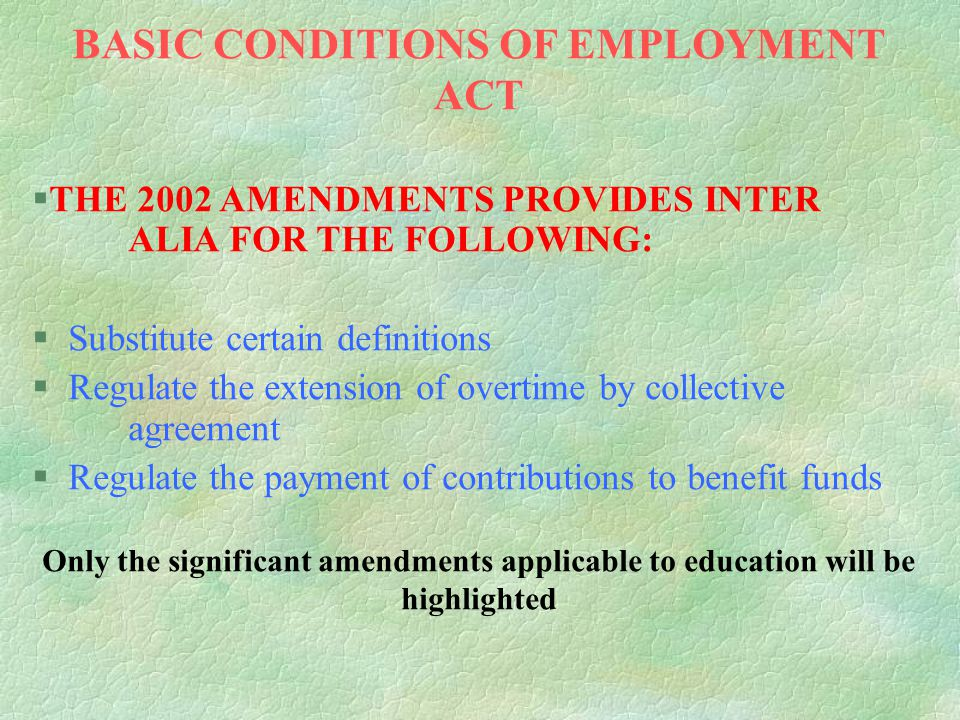 EMPLOYMENT OF EDUCATORS ACT §SECTION 6(A) (Page 10) l APPOINTMENT OF NEW EMPLOYEES OR APPLICANTS WITH A BREAK IN SERVICE WITHOUT THE RECOMMENDATION OF