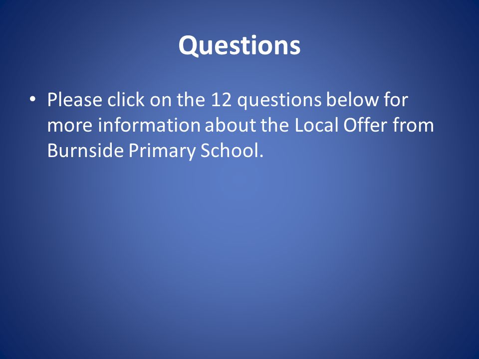 Question 6 Who are the other people providing services to children with SEND in this school.
