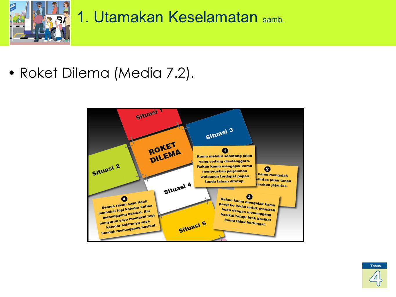 Roket Dilema (Media 7.2). 1. Utamakan Keselamatan samb.