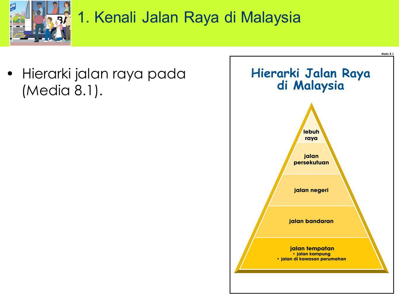 Hierarki jalan raya pada (Media 8.1). 1. Kenali Jalan Raya di Malaysia