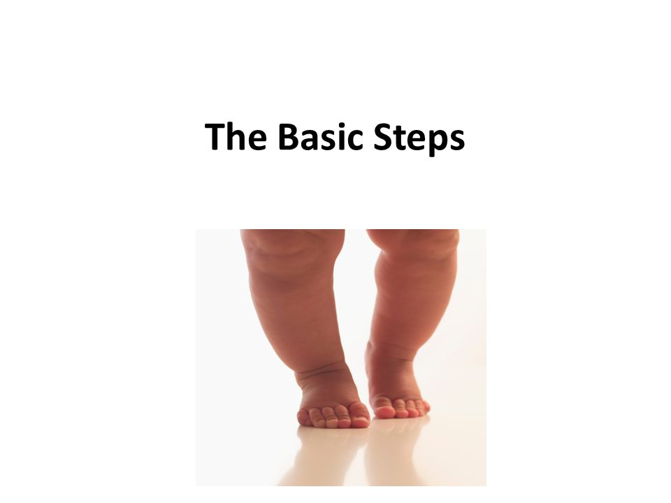 The Basic Steps