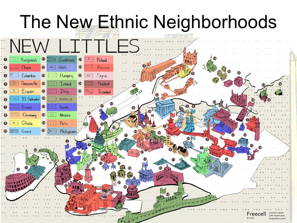 The New Ethnic Neighborhoods