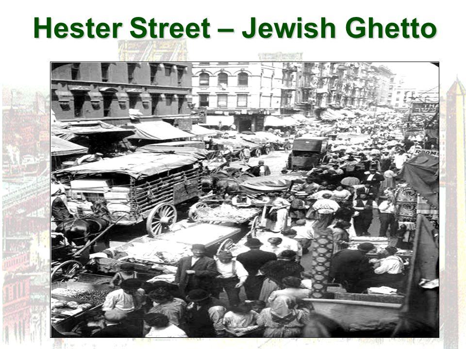 Hester Street – Jewish Ghetto