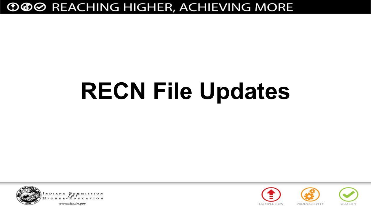 RECN File Updates