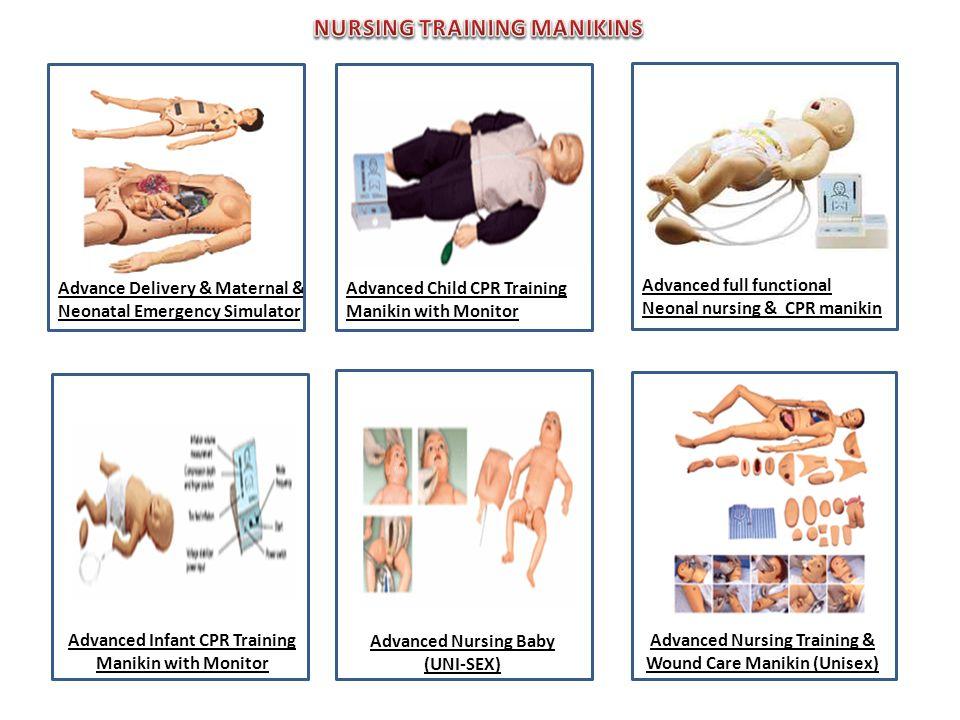 Advance Delivery & Maternal & Neonatal Emergency Simulator Advanced Child CPR Training Manikin with Monitor …… Advanced full functional Neonal nursing