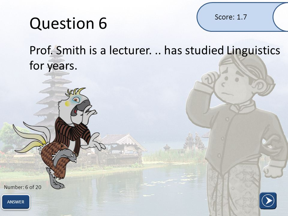 Question 17 We can't wait to see your upcoming movie.