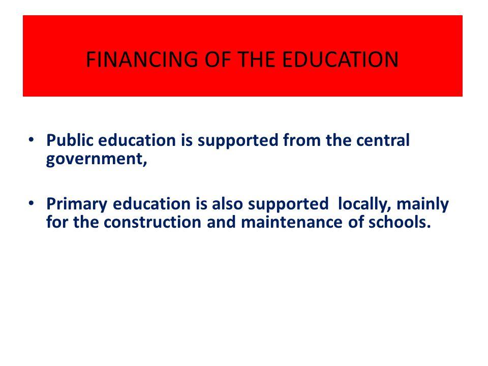 TURKISH EDUCATION SYSTEM Formal Education Non-formal Education