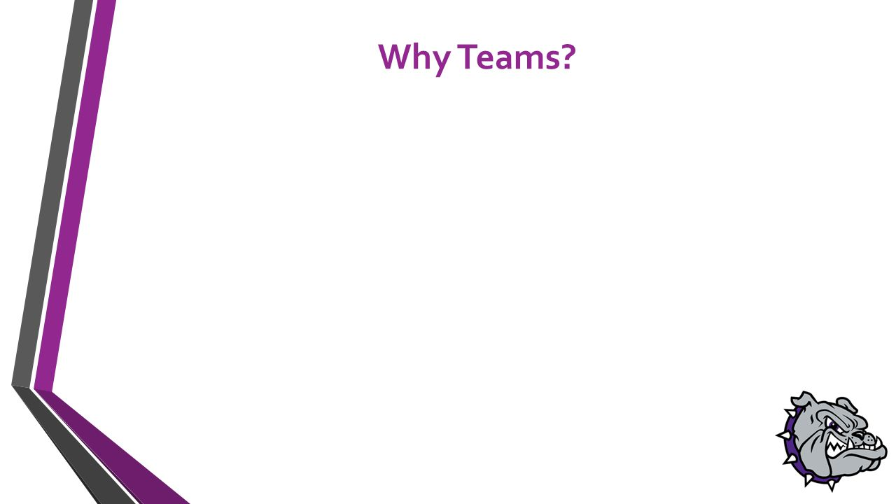 Why Teams