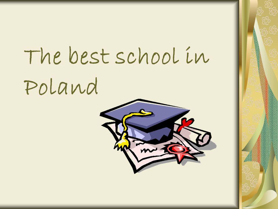 The best school in Poland