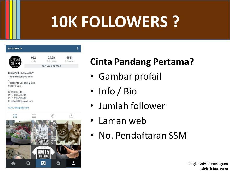 FACEBOOK GROUP Bengkel Advance Instagram Oleh Firdaus Putra Good luck! #instapreneur