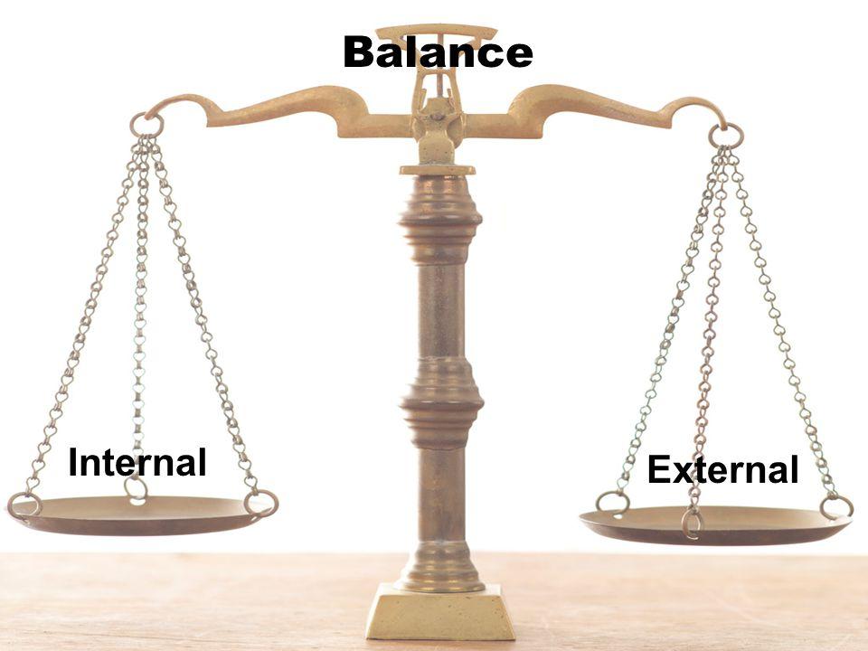 Balance Internal External