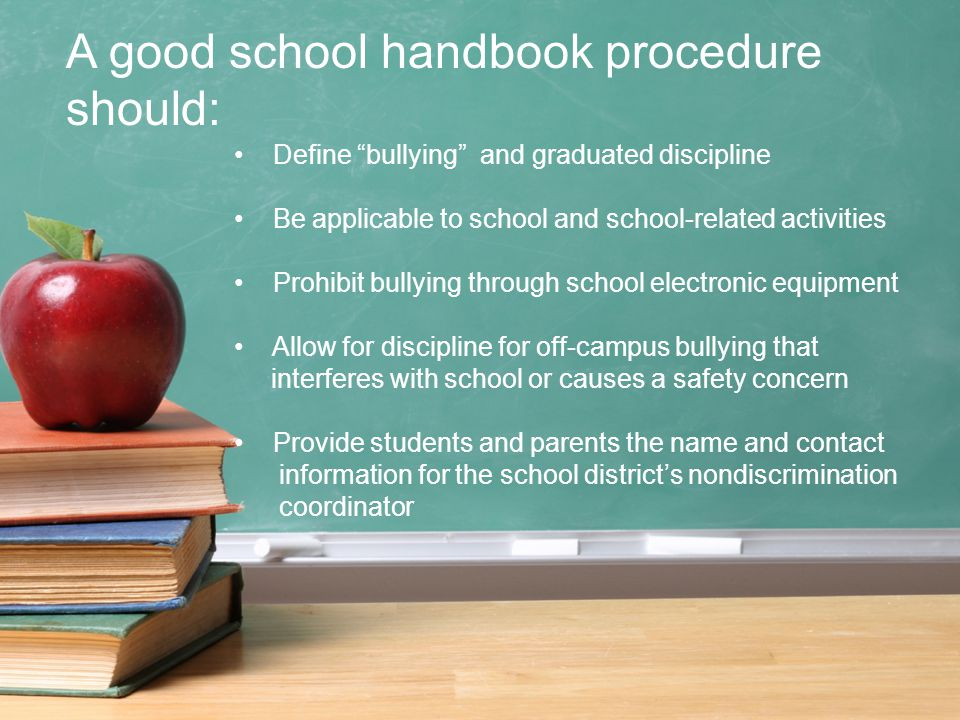 Liability on School Districts & School Administrators The law requires you to immediately address bullying or harassment that takes place at school or at a school-related event Failure to take action could subject the school district and you – personally – to liability