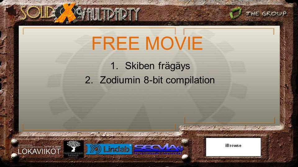 1.Skiben frägäys 2.Zodiumin 8-bit compilation