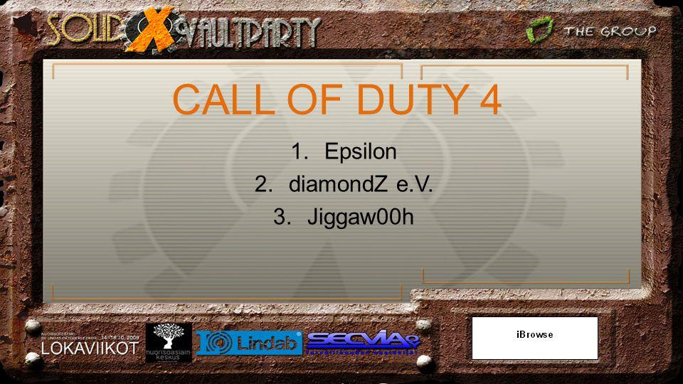 1.Epsilon 2.diamondZ e.V. 3.Jiggaw00h