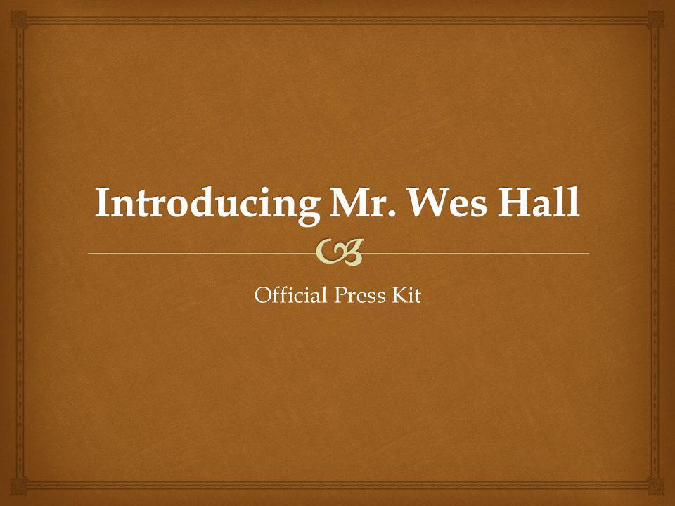 Official Press Kit