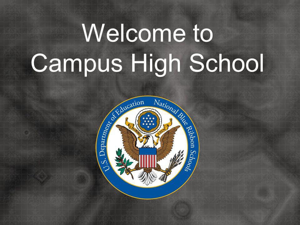 Campus High School Principal Mr. Regier