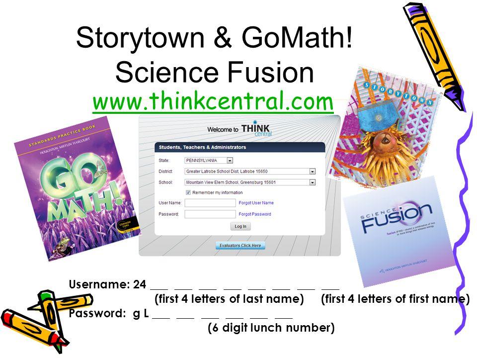 Storytown & GoMath.
