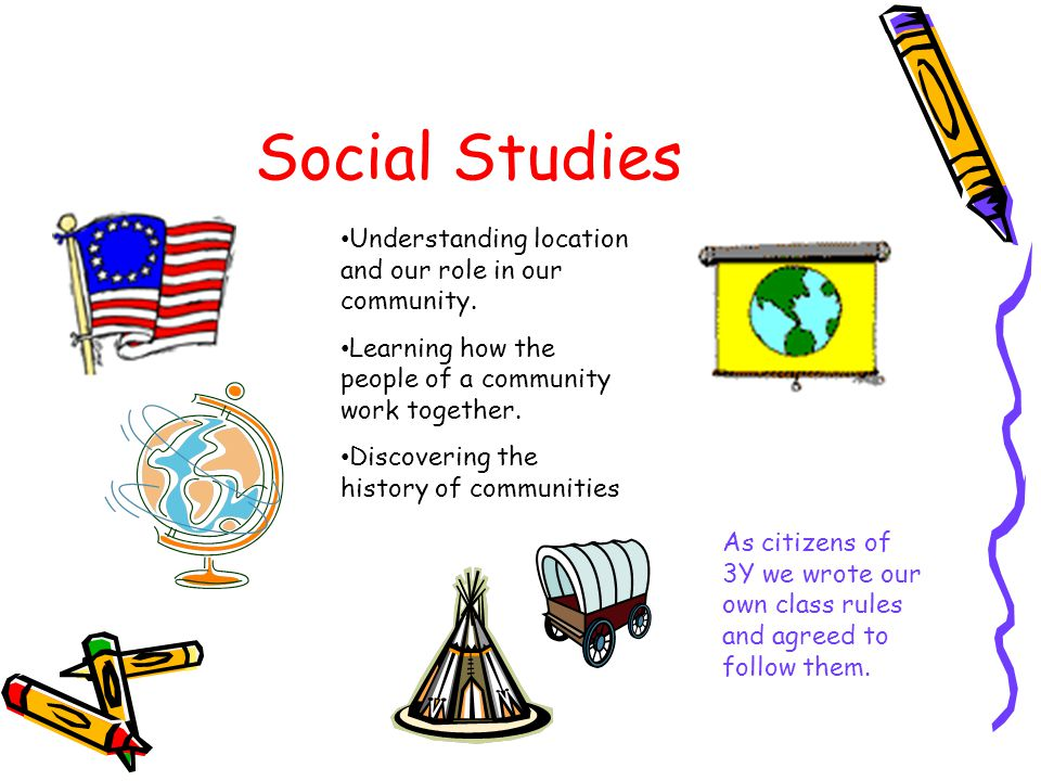 Social Studies Understanding location and our role in our community.