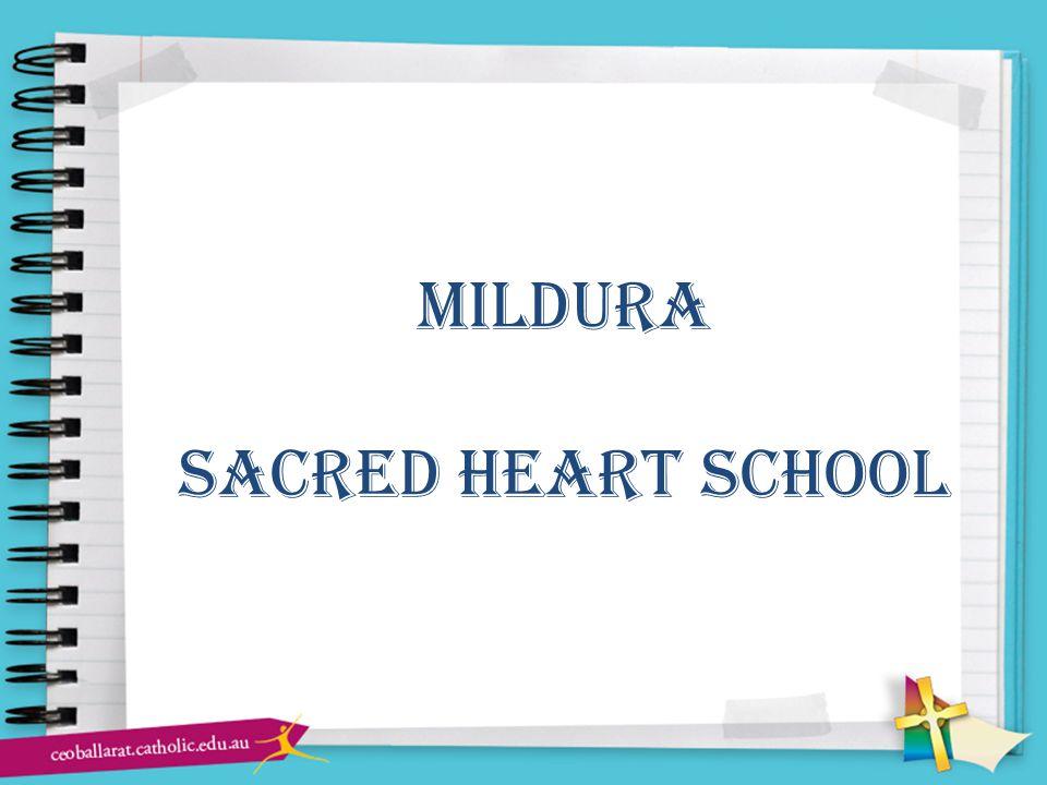 mildura sacred heart school