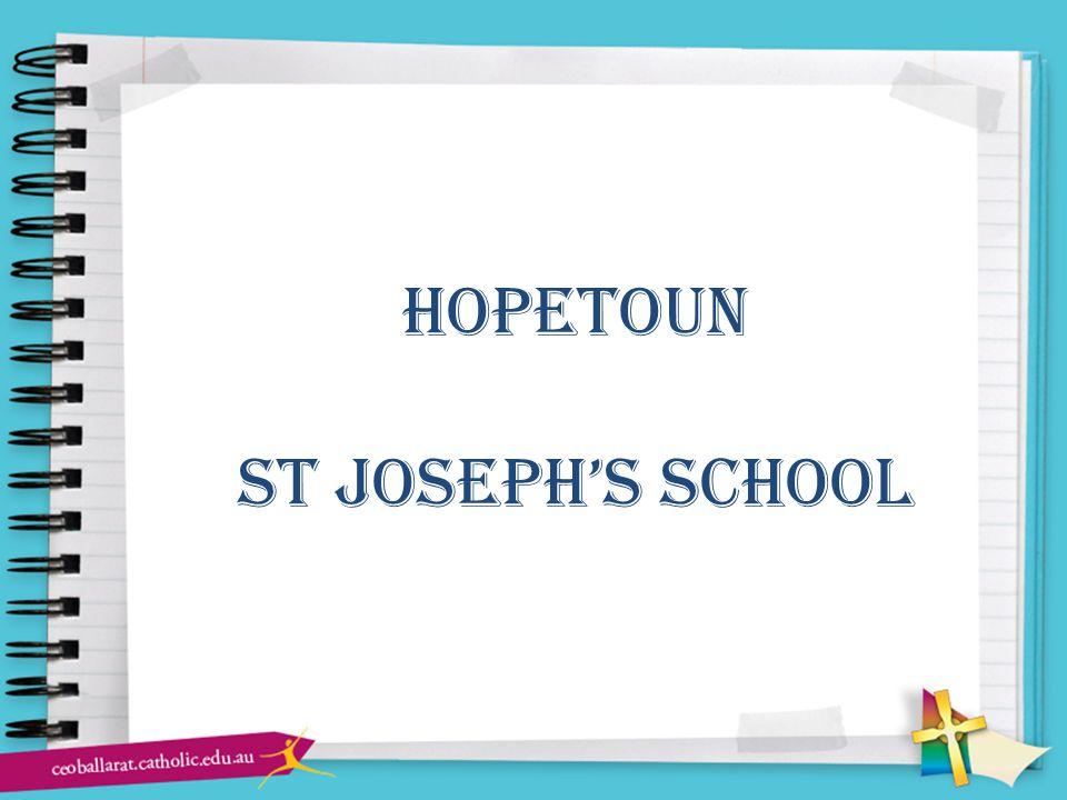 hopetoun st joseph's school