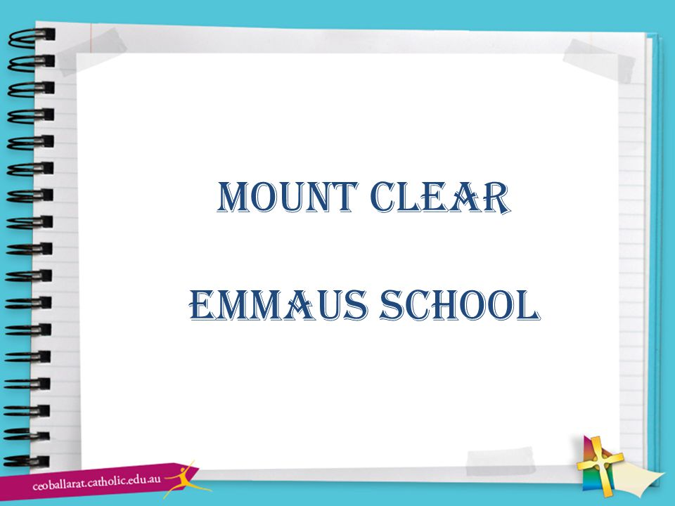 mount clear emmaus school